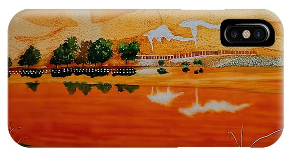 Golden Summer At Contra Loma Reservoir IPhone Case