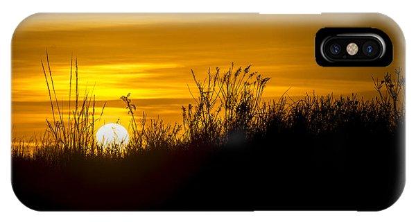 Golden Sunrise IPhone Case
