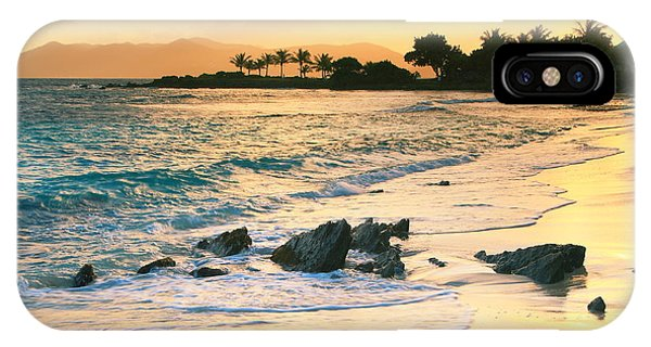Golden Sunrise On Sapphire Beach IPhone Case