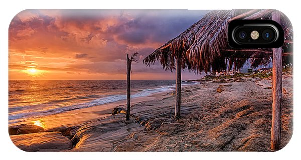 Golden Sunset The Surf Shack IPhone Case