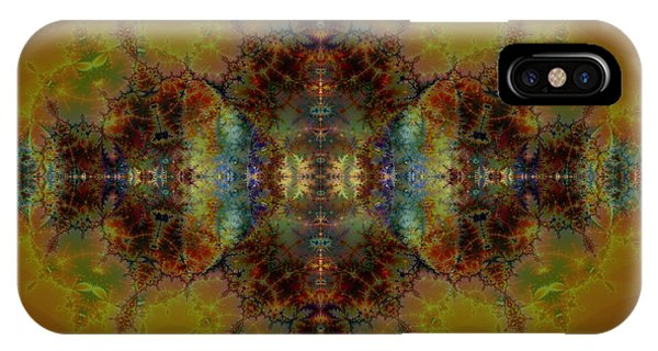 Golden Tapestry IPhone Case