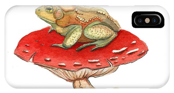 Golden Toad IPhone Case