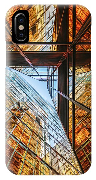 Facade iPhone Case - Golden Triangle by Kevin Jiang