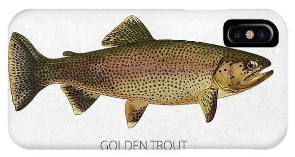 Golden Trout IPhone Case