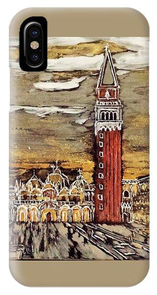 Golden Venice IPhone Case