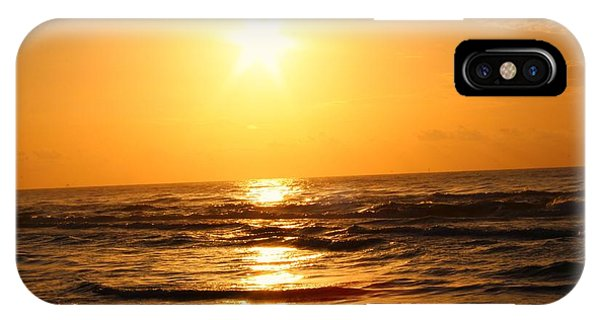 IPhone Case featuring the photograph Golden Waves by Candice Trimble