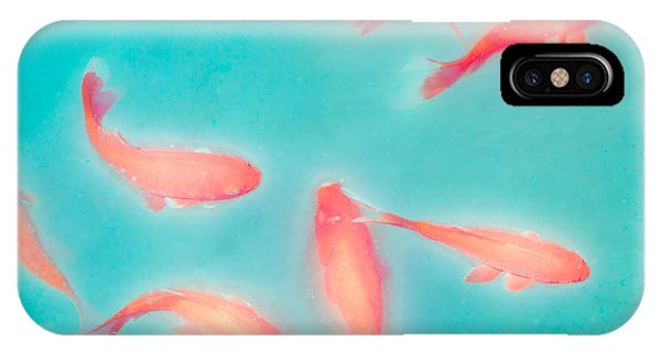 Goldfish - Glowing Fish - Gary Heller IPhone Case