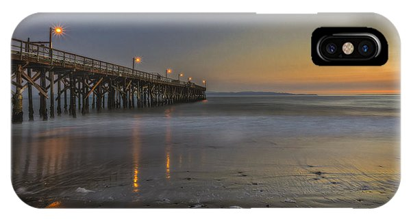 Goleta At Sunset IPhone Case