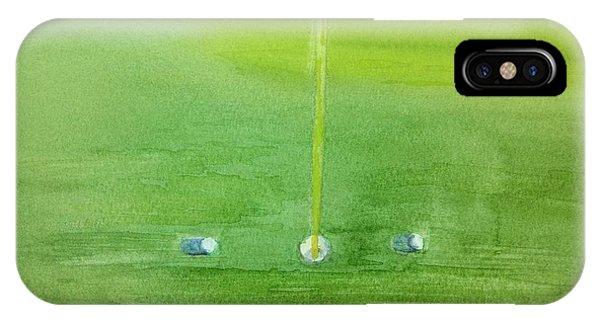 Golf Betting IPhone Case