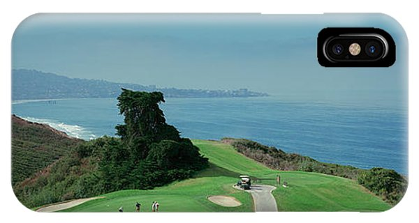 Golf Course At The Coast, Torrey Pines IPhone Case