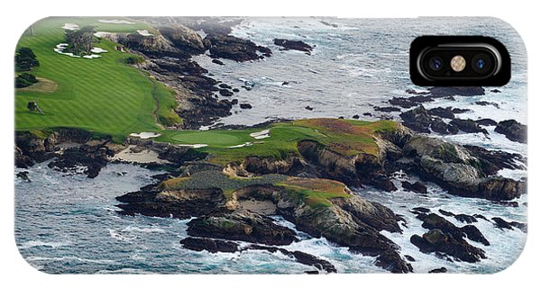 Monterey iPhone Case - Golf Course On An Island, Pebble Beach by Panoramic Images