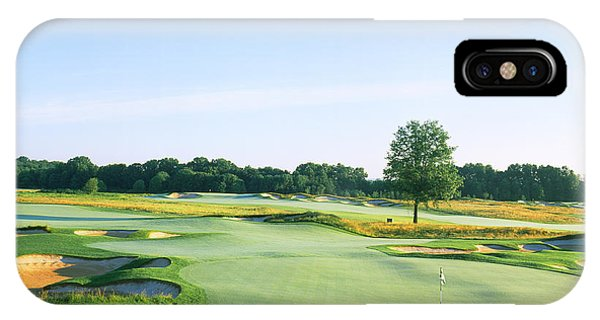 Somerset County iPhone Case - Golf Course, Royce Brook Golf Club by Panoramic Images