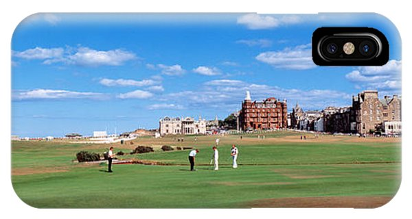 Physical iPhone Case - Golf Course, St Andrews, Scotland by Panoramic Images