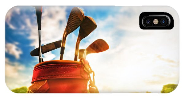Golf Equipment  IPhone Case