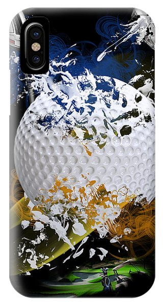 Golf Explosion IPhone Case