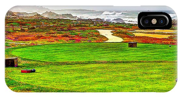 Golf Tee At Spyglass Hill IPhone Case