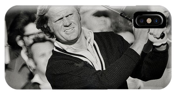 Golfer Jack William Nicklaus Born January 21 1940 Nicknamed The Golden Bear IPhone Case