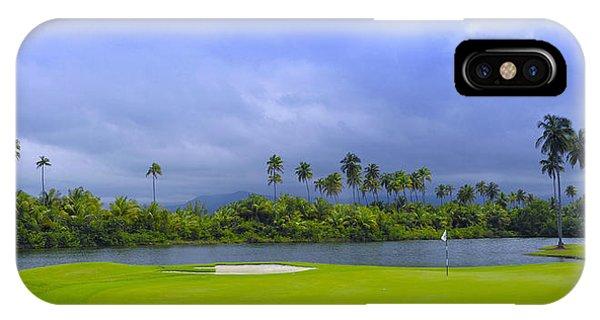 Golfer's Paradise IPhone Case