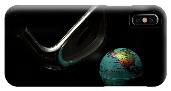 Golfing The World IPhone Case