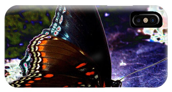Gona-fly-butterfly IPhone Case