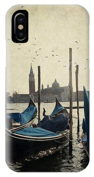 Gondala In Venice IPhone Case