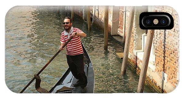 Gondola Man IPhone Case