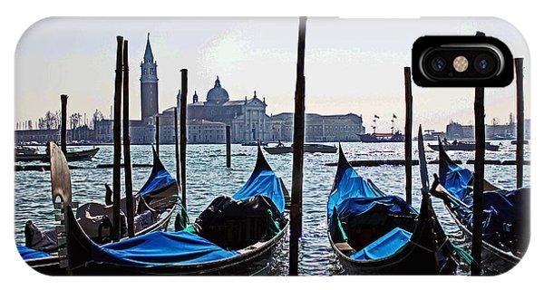 Gondolas Of Venice IPhone Case