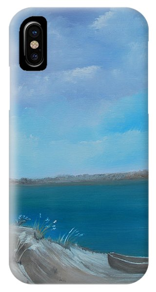 Gone Fishin IPhone Case
