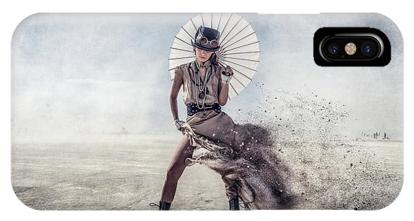 Dust iPhone Case - Gone With The Wind by Gilles Bonugli Kali