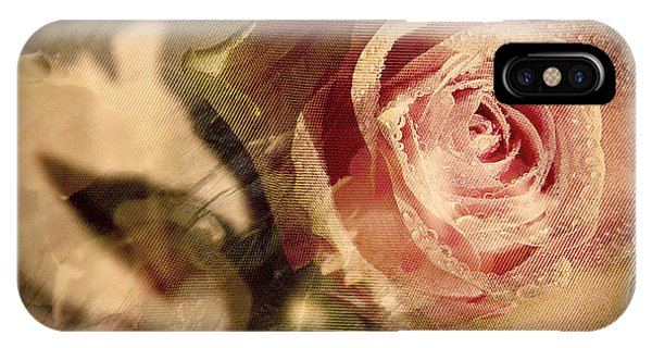 Gone With The Wind Romantic Rose Close-up IPhone Case