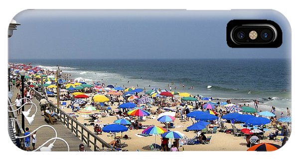 Good Beach Day At Bethany Beach In Delaware IPhone Case