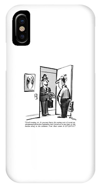Debts iPhone Case - Good Evening by Lee Lorenz