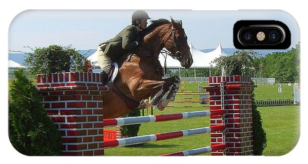 good form at Upperville IPhone Case