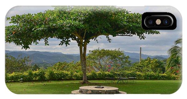 Good Hope Estate Lawn Jamaica IPhone Case
