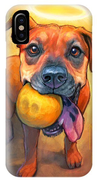 Famous Artist iPhone Case - Good Karma by Sean ODaniels