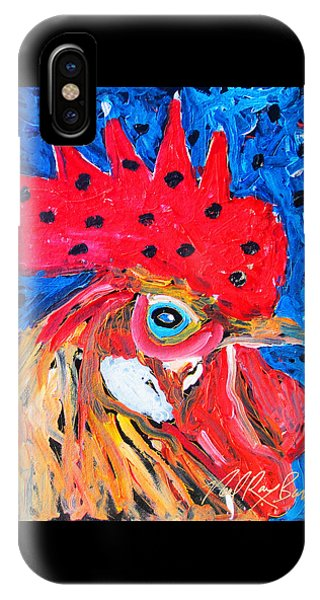 Good Luck Rooster IPhone Case
