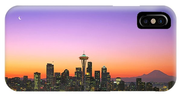 Skyline iPhone Case - Good Morning America. by King Wu