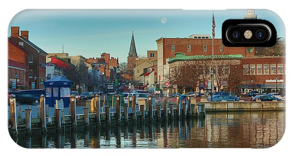 Chesapeake Bay iPhone X Case - Good Morning Downtown by Jennifer Casey