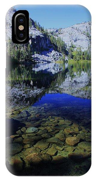 Good Morning Eagle Lake IPhone Case