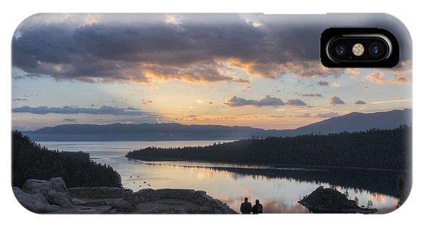 Good Morning Emerald Bay IPhone Case
