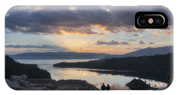 Good Morning Emerald Bay IPhone Case