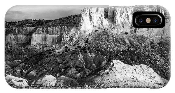 Sangre De Cristo iPhone Case - Good Morning Ghost Ranch - Abiquiu New Mexico by Silvio Ligutti