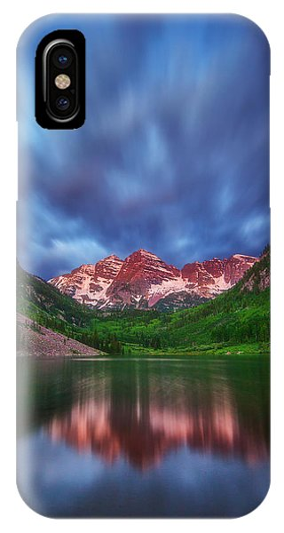 Bell iPhone Case - Good Morning Maroon by Darren  White