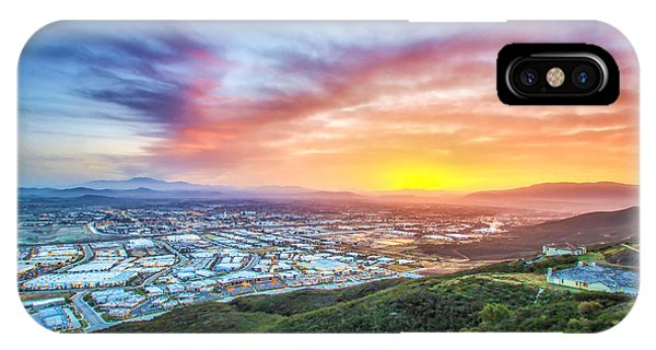 Good Morning Temecula IPhone Case