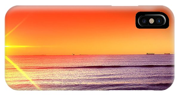 Good Night Sun IPhone Case