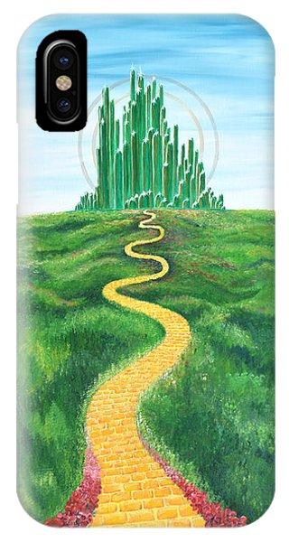 Goodbye Yellow Brick Road IPhone Case