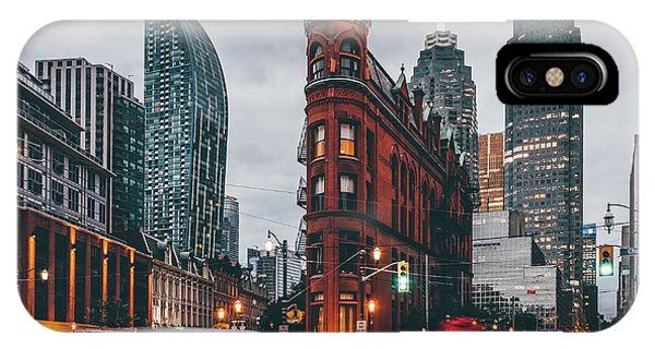 Buildings iPhone Case - Gooderham Building by Carmine Chiriac??