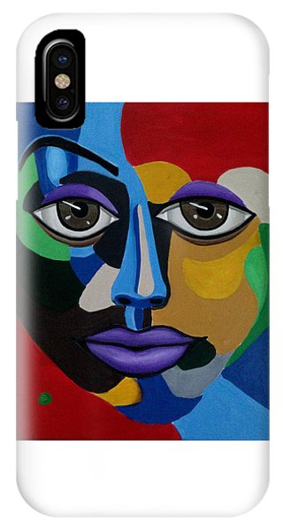 Abstract Face Art Abstract Painting Eye Art IPhone Case