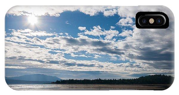 Goose Bay Sunrays IPhone Case