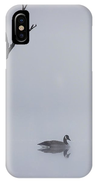 Goose Of The Fog IPhone Case